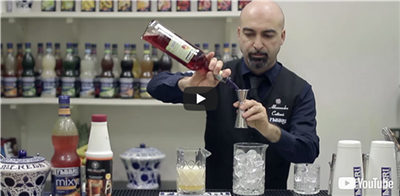 How to make a Negroni with mandarin velvet (thanks to Aria&Velluto)
